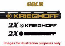 Krieghoff Vinyl Decal Sticker For Shotgun / Gun / Case / Gun Safe / Car / K2