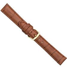 Herzog Ersatzband Uhrenarmband Kalbsleder Band Braun 12 - 30mm 20327G