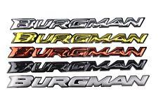 3D Burgman Stickers Decals Emblem for Suzuki Burgman AN125 AN200 AN400 AN650