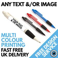 Personnalisé Imprimé stylos * Sur Mesure Personnalisé Business Stylo Logo * Band Photo Image