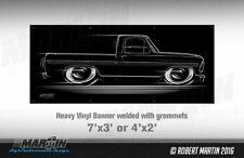 BIG BANNER  '67-'72 Ford F100 Bumpside Truck 1967 1968 1969 1970 1971 1972 F-100