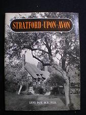 Stratford Upon Avon - An Appreciation  - Levi Fox   Jarrold  1950s