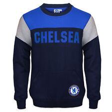 Chelsea FC Official Football Gift Boys Crest Sweatshirt Top