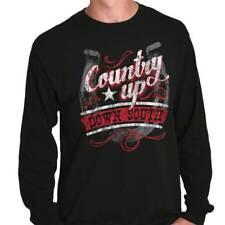 Down South Rough Country Shirt Cowboy Cowgirl Gift Long Sleeve T Shirt
