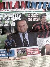 MilanInter n°13 2003 - Alvaro Recoba Kakà Alberto Zaccheroni