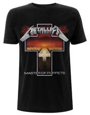 Metallica 'Master Of Puppets Cross ' T-Shirt - Nuevo y Oficial