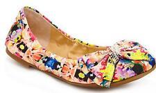 Women's Shoes Gianni Bini SWEETIE Ballet Flats Slip-On Bow Detail  Multi Color