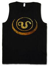 SYMBOL OF APOPHIS TANK TOP VEST Goa'uld Na'onak Ra Jaffa Stargate Sign Logo