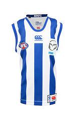 AFL North Melbourne Kangaroos Kids Youth Home Guernsey, sizes 6Y 8Y 12Y 14Y 16Y