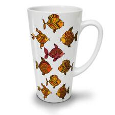 Ornament Fish Float NEW White Tea Coffee Latte Mug 12 17 oz | Wellcoda