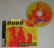CD Singolo BUGO Casalingo AUTOGRAFATO 2002 Germany UNIVERSAL 0191772 (S1) mc dvd