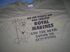 ROYAL MARINES DEVIL era attenzione T-Shirt Tutte Le Taglie