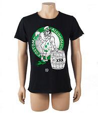 BOOM BAP Herren T-Shirt Alcoholics schwarz Boston Bier T Shirt Beer Jersey