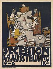 Egon Schiele-secesión 49 exposición Vintage Fine Art Print