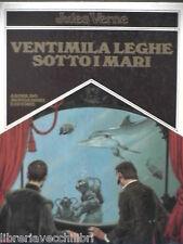 VENTIMILA LEGHE SOTTO I MARI Jules Verne Achille Picco Mondadori Capolavori 1981