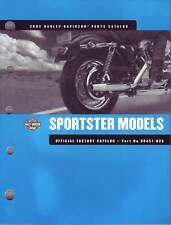 HARLEY-DAVIDSON Teilebuch XL Sportster 2002 parts catalog Buch 99451-02 NEU OVP