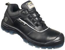 Men Work Boot Safety Jogger Nova Leather Black Black 100% Original Brand New