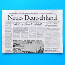 Neues Deutschland Mai 1995 Geburtstag Hochzeit 21. 22. 23. 24. 25. 26. 27. 28.