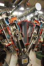 Türposter Motor Türaufkleber Möbelfolie Getriebe KFZ Werkstatt Auto Boot 1251tp