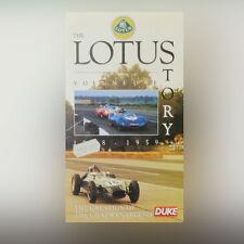 Die Lotus Story - Volume Eins - Formel 1 - F1 - VHS-Video Band - PAL