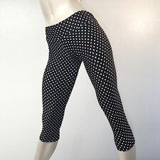 Polka Dot Hot Yoga Pants Low Rise Capri Workout SXYFitness HANDMADE IN USA