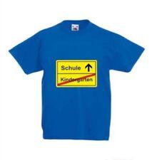 Kindergarten Schule Kinder Shirt mit Druck, Namensdruck auf dem Rücken + 2,- (S)