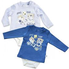 62 68 74 80 Baby Jungen Set Shirt und Hose IGEL in schwarz-weiss Gr