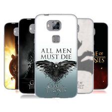 UFFICIALE HBO Game of Thrones Chiave Art Soft Gel Custodia per Huawei Telefoni 2