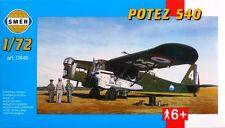 POTEZ 540 - SPANISH REPUBLICAN AF & ARMEE DE L'AIR/FRENCH AF MKGS 1/72 SMER