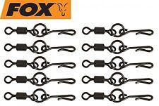 Fox Edges Kwik Change O Ring Swivels Wirbel, Schnellwechselwirbel für Karpfen
