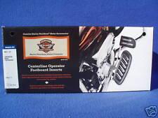 Harley softail touring rider footboard floorboard insert inserts flhx  50511-07