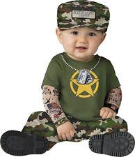 Incharacter Sergeant Duty US Army Hero Flag Infant Baby Halloween Costume 16071