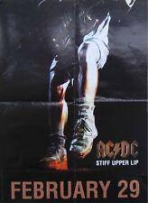 AC/DC POSTER, STIFF UPPER LIP (K9)