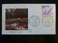 FRANCE PREMIER JOUR FDC YVERT 1931  LES FLORALIE DE NANTES  1,40F  NANTES  1977