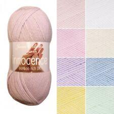 James C Brett Innocence DK Acrylic Bamboo Yarn Knitting Crochet Craft 100g Ball