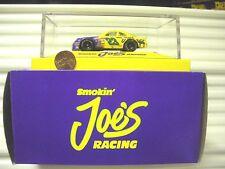 Matchbox 1/64 Scale Nascar Cars in Plexi Case Smokin Joes Coors Kodiak Bud NuBxd