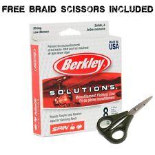 Berkley Solutions Monofilament 300 metre Fishing Line With Free Braid Scissors