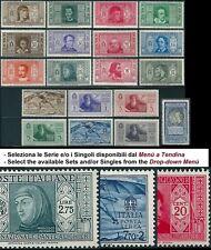 ** Italia 1932: DANTE ALIGHIERI  [MNH] Serie e Singoli