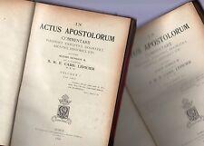 in actus apostolorum commentarii - 2  tomi - 1928 - in latino -