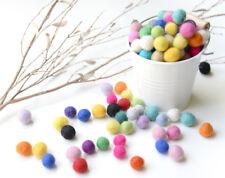 1cm Felt Balls.Multi colours.Wool.Mixed colours.Assorted.Wool balls. Cloud Den