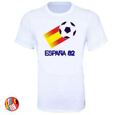 Copa del Mundo España España 1982 Fútbol Balonpié Camiseta de estilo vintage y retro Niños & Adultos