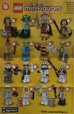 LEGO® Figuren Serie 10 - 71001 - Auswahl - NEU/OVP oder ZIP Tüte