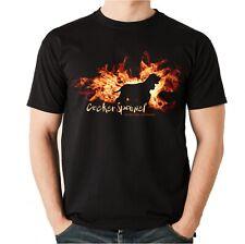 Unisex T-Shirt COCKER SPANIEL FEUER UND FLAMME by Siviwonder Hundemotiv