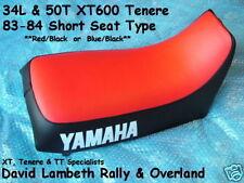 Yamaha XT600Z Tenere 34L 39E 39F 50T 50U 53R Seat Cover Coprisella Sitzbezug B/R