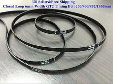 US Closed Loop 6mm Width GT2 Timing Belt For RepRap 3D printer Prusa Prusa CNC
