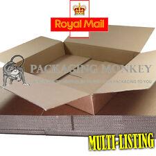 Maximum Size DEEP ROYAL MAIL SMALL PARCEL 349x249x159mm Cardboard Postal Boxes