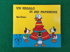 Walt Disney - UN REGALO DI ZIO PAPERONE , Ed Mondadori Mini Libro n 23 (1970)