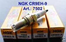 4x NGK Zündkerzen CR9EH-9 Honda CBR 900 RR, CBR900, SC33, Fireblade, 7502, plugs