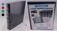 Leuchtturm Grande Classic A4 Ringbinder mit Kassette Farbe wählbar NEU Kunstlede