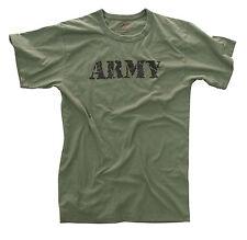 Rothco 66400 Vintage 'Army' T-Shirt - Olive Drab